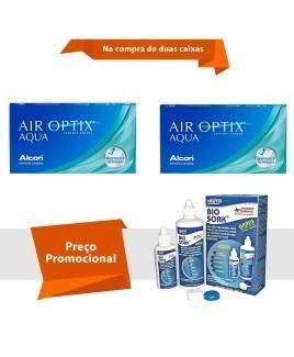 Air Optix Aqua com Bio Soak