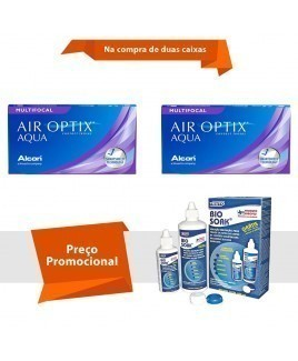 Air Optix Aqua Multifocal com Bio Soak