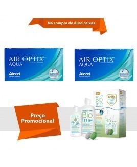 Air Optix Aqua com BioTrue