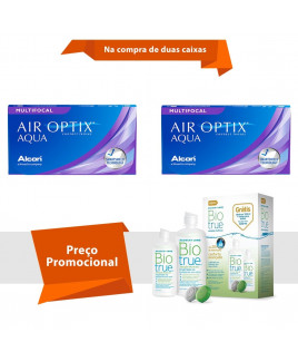 Air Optix Aqua Multifocal com BioTrue