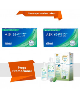 Air Optix para Astigmatismo com BioTrue