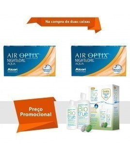 Air Optix Night & Day Aqua com BioTrue