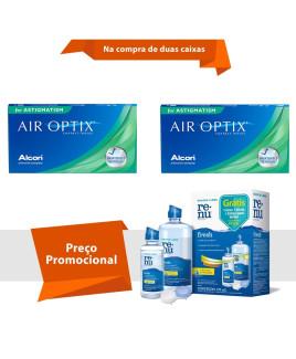 Air Optix para Astigmatismo com Renu Fresh