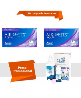 Air Optix Aqua Multifocal com Aqua Clean