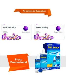 Avaira Vitality com Bio Soak