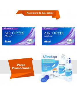 Air Optix Aqua Multifocal com UltraSept