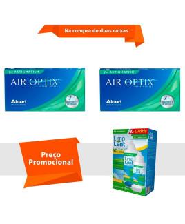 Air Optix para Astigmatismo com Limp Lent