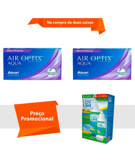 Air Optix Aqua Multifocal com Limp Lent