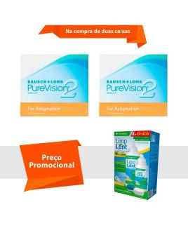 Purevision 2 para Astigmatismo com Limp Lent