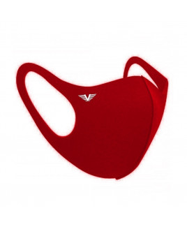 Mascara em Neoprene Vermelha