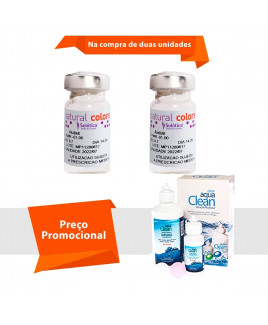 Natural Colors com Grau com Aqua Clean