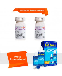 Natural Colors com Grau e Bio Soak