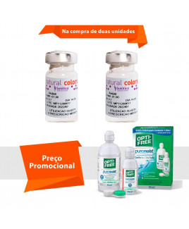 Natural Colors com Grau e Opti Free