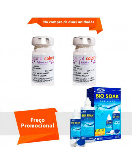 Natural Colors Sem Grau com Bio Soak