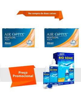 Air Optix Night & Day Aqua com Bio Soak