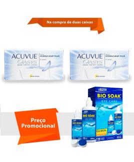 Acuvue Oasys com Hydraclear Plus com Bio Soak