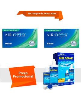 Air Optix para Astigmatismo com Bio Soak