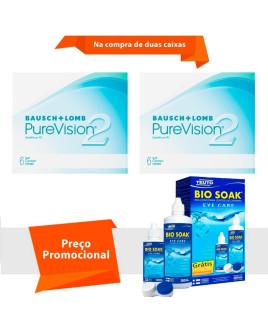 Purevision 2 com Bio Soak
