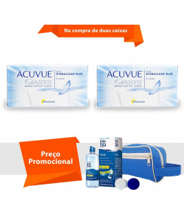 Acuvue Oasys com Hydraclear Plus com Kit  Renu Fresh