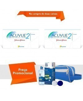 Acuvue 2 com Kit Renu Fresh