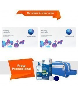 Biofinity Multifocal com Kit Renu Fresh