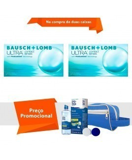 Lente Ultra com Kit Renu Fresh