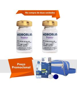 Hidroblue UV Tórica para Astigmatismo Com Kit Renu Fresh