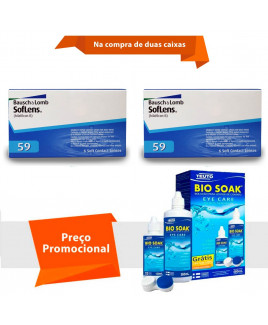 Soflens 59 com Bio Soak