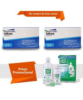 Soflens 59 com Opti Free