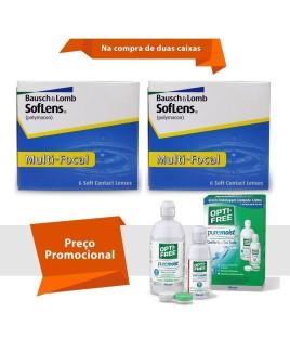 Soflens Multifocal com Opti Free