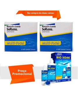 Soflens Multifocal com Bio Soak