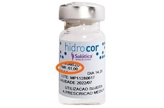 Solotica Hidrocor Contact Lenses Aquamarine