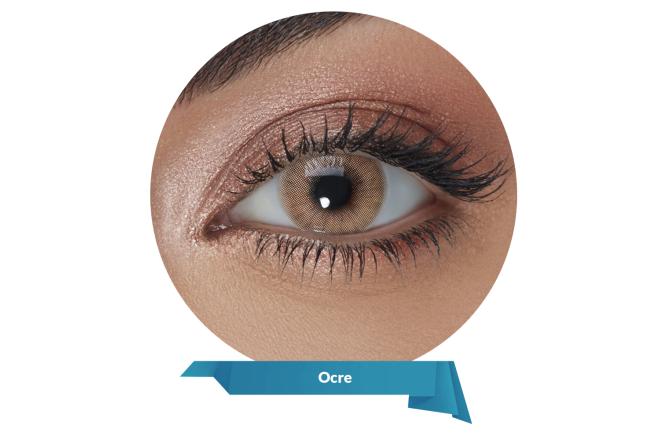 Solotica Hidrocor Contact Lenses Ocre
