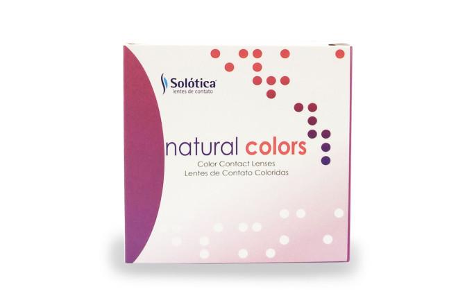 Solotica Natural Colors Contact Lenses Grafite