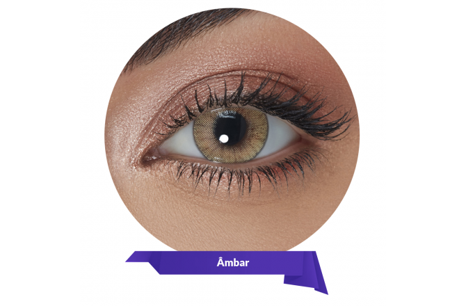 Solotica Natural Colors Contact Lenses Ambar
