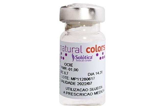Solotica Natural Colors Contact Lenses Ocre