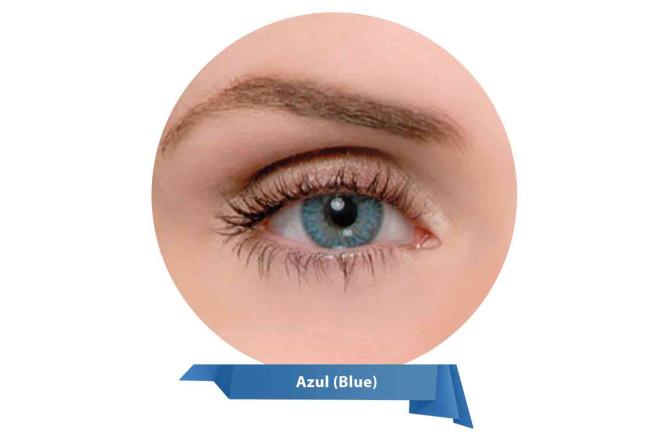 Magic Top Prescription Lenses Azul