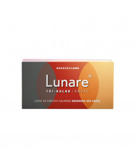 Lunare Tri-Kolor Anuual Non Prescription Lens